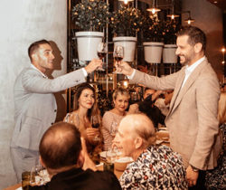 GlobalPro and Lamborghini Miami host Gaja Wine at Chef Michael Schwartz's Fi'lia