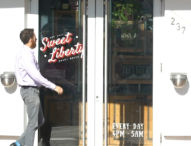 GlobalPro Hosts Happy Hour at Sweet Liberty